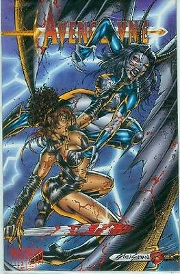 Avengelyne # 2 (of 3) (with trading card) (USA, 1995)