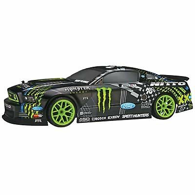 HPI Racing 1/10 E10 Drift Mustang Monster Energy RTR 111664