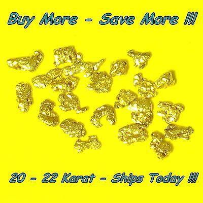 .230 Gram Gold From Alaska Natural Raw Placer Alaskan Nugget Bering Flakes Fines