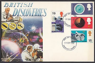 1967  British Discovery & Invention   Fdc   (622)