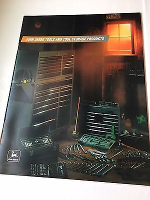 John Deere Tools and Tool Storage Products booklet- 1998