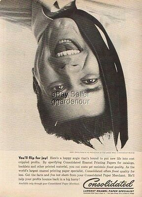 1961 Jerry Lewis -The Ladies Man Consolidated Vintage 1960s Magazine Ad