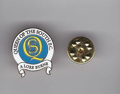 Queen of the South - lapel badge No.2 butterfly fitting