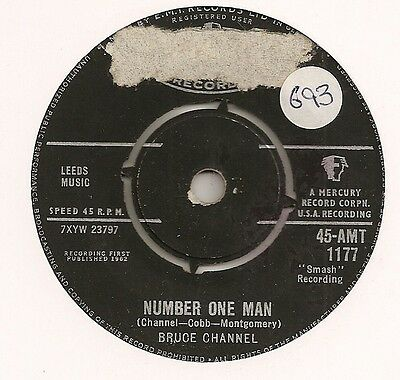 "Bruce Channel ""number One Man"" On Mercury Vg"