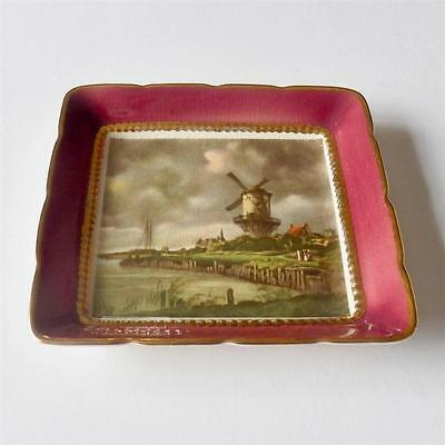 Sandland Ware - Lancaster & Sandland.  Dish with John Constable Picture