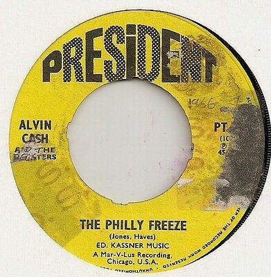 "Alvin Cash ""the Philly Freeze"" On President Vg"