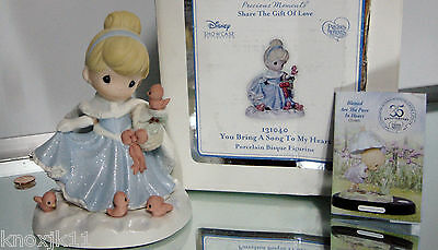 Disney Princess CINDERELLA You Bring A Song To My Heart FIGURE Precious Moments