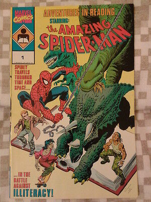 Adventures in Reading starring the Amazing Spider-Man 1 (1990)
