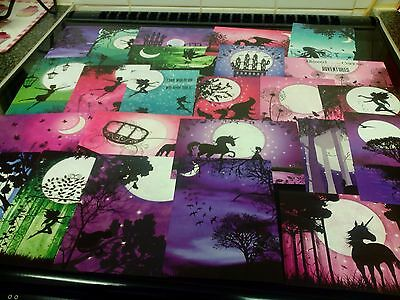 Craft Clear Out 24 X Prints From Hunkydory Book Of Twilight Kingdom Card Making