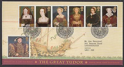 1997  HENRY Vlll & WIVES  - WITH INSERT CARD    FDC   (634)