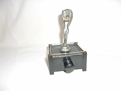 Silent Flame Table Lighter Dunhill Art Deco