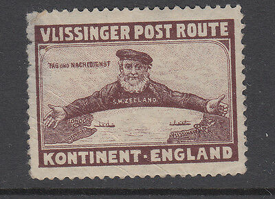 England - Continent - Post Route - (8) - Ship - Cinderella