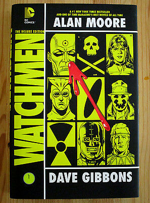 DC Comics Alan Moore WATCHMEN DELUXE EDITION Hardcover graphic novel Near Mint