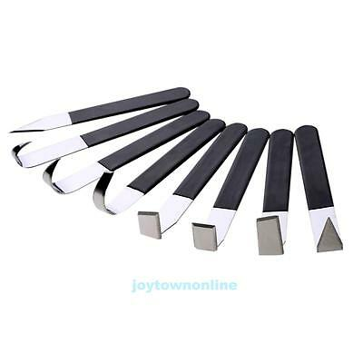 New 8pcs/set Stainless Pottery Wax Clay Carvers Carving Fettling Sculpture Tools