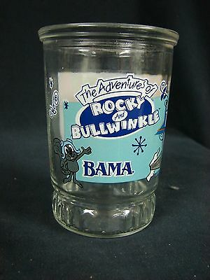 The Adventures of Rocky and Bullwinkle Bama Jelly Glass Cup 1 of 6
