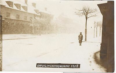 Epping on Easter Monday 1908 RP nr. Harlow, Loughton