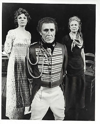 """Jason Robards """"TOUCH OF THE POET"""" Geraldine Fitzgerald 1978 Broadway Press Photo"""