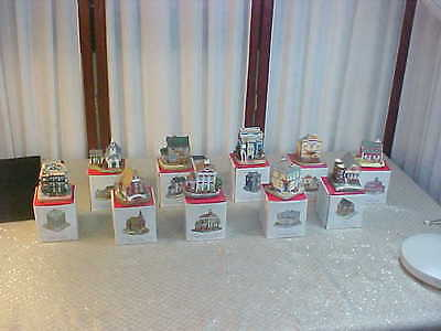10pc Liberty Falls Americana Collection w/Boxes