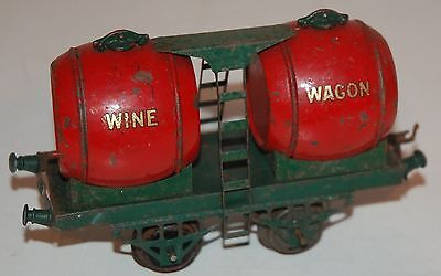 Hornby Series O Gauge  Early Wine Wagon In Original Condition