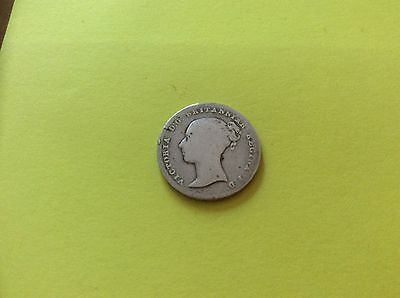 Four Pence Coin Victoria Dated 1838 Collectable  Look Now