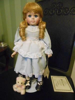 """Once Upon A Rhyme """" Goldilocks  & Teddy""""  Collection  New In Box & Coa"""