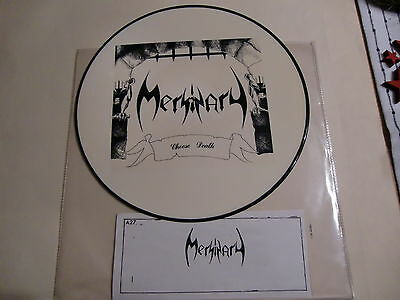 """Mersinary / Choose Death / Very Rare Picture Disc 12"""" !!"""