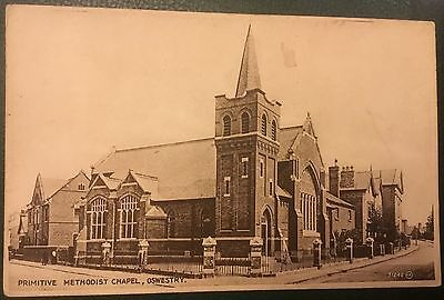 Primitive  Methodist Church  OSWESTRY Shropshire unposted