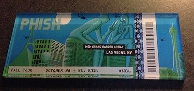 Phish Halloween Run Ticket Magnet MGM Grand Arena MSG