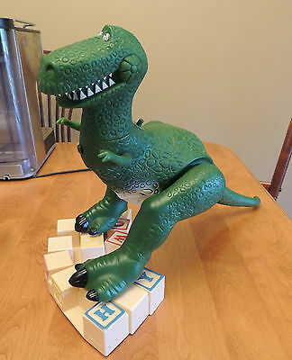 ORIGINAL Disney Pixar Thinkway Toy Story Electronic Talking Rex Action Figure