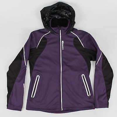 Sugoi WOMEN'S Firewall 180 Jacket SMALL Thermal Outdoor Hike Run Cycling Hooded