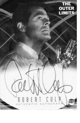 """OUTER LIMITS Auto Card A2 ROBERT CULT Demon With A Glass Hand 2001 Mint """"SALE"""""""