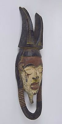 Wonderful Pende Mask with tall horns, African Tribal Art