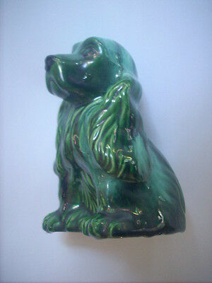 Cocker Spaniel Dog Figurine Made By Wyatt Art Pottery Canada