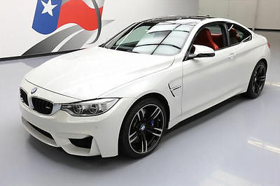 2016 BMW M4  2016 BMW M4 COUPE EXECUTIVE 6-SPEED CARBON ROOF NAV HUD #336163 Texas Direct