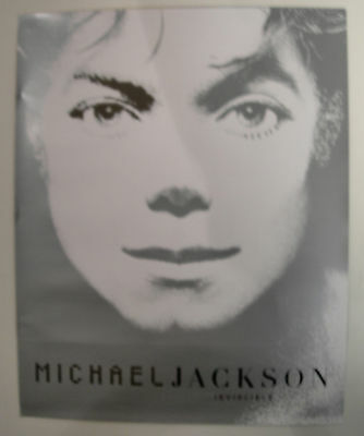 Michael Jackson Invincible  Us Promo Posters 2001