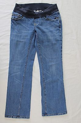 Womens Old Navy Maternity Demi Low Waist Boot Cut Jeans Size 5 S Short