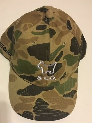 New SCOTTY CAMERON Dog & Co Camouflage Slouch Hat Golf from Gallery Encinitas Ca