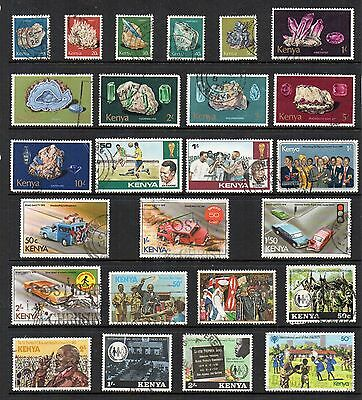 KENYA Used Stamp COLLECTION QEII  REF:QE103