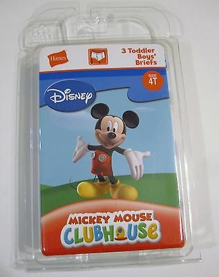 New Size Toddler 4T Briefs Disney Mickey Mouse Set of 3 Underpants