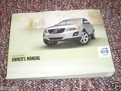 2011 Volvo Xc60 Suv Owners Manual Book Guide All Models