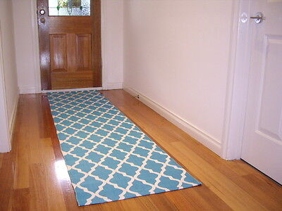 Hallway Runner Hall Runner Rug 280cm Long Free Delivery Icon Turquoise