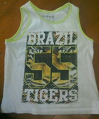 Age 6-7 years boys vest top