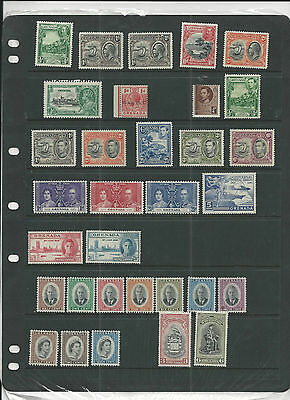 Trade Price Stamps Grenada Mounted Mint On Stock Sheet