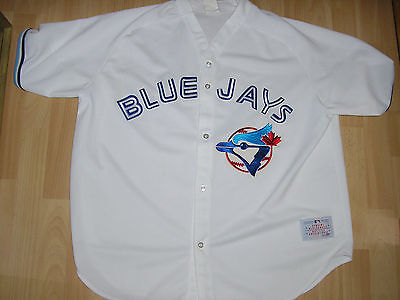 veste maillot base ball BLUE JAYS major league base ball USA