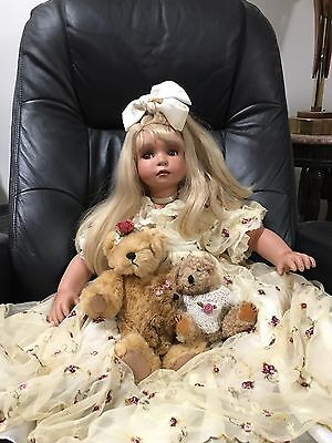 ARTIST PORCELAIN DOLL LE LIMITED EDITION of 200 Denise Mcmillian LIFE LIKE
