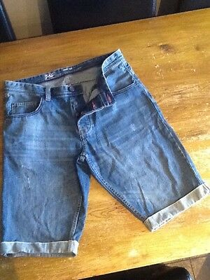 mens denim shorts waist 34 from f&f