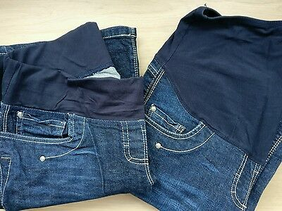 2 x Next maternity jeans - size 14 r
