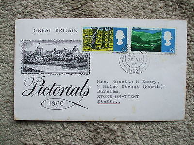 G.B Pictorial First Day Cover 1968