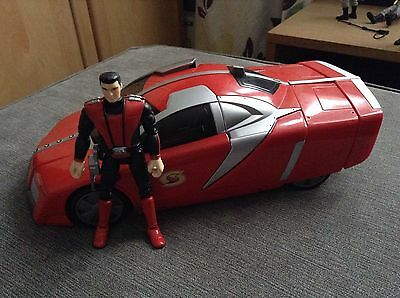 New Captain Scarlet Electronic Cheetah Car & Action Figure Toy Gerry Anderson