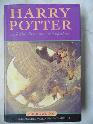 HARRY POTTER AND THE PRISONER OF AZKABAN by J K ROWLING H/B 1999 1/18